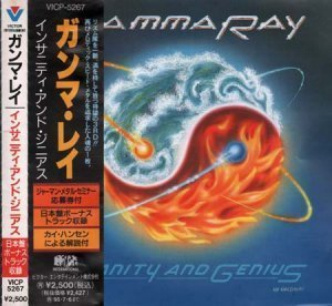 Gamma Ray - Insanity And Genius [Japanese Edition, VICP-5267] 1993