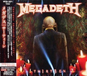 Megadeth - TH1RT3EN 2011 (Japanese 1-st Edition)