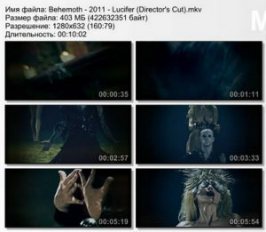 Behemoth - Lucifer [Director's Cut] (2011)