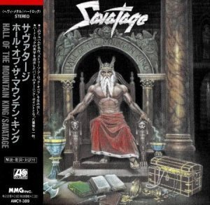 Savatage - Hall Of The Mountain King (Japanese Edition) 1987