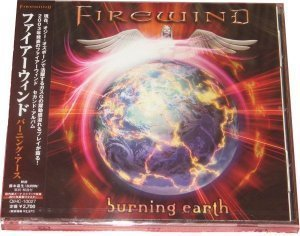 Firewind - Burning Earth [Japan, QIHC-10027] (2011)