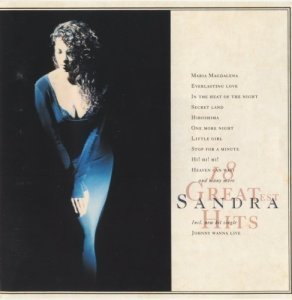 Sandra - 18 Greatest Hits [Japan] (1992) [Edition 1993]