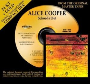 Alice Cooper - School's Out (1972) [24K+Gold HDCD]