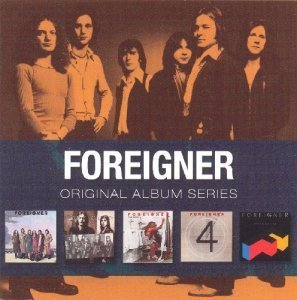 Foreigner - Original Album Series (5CD Boxset) (2009)