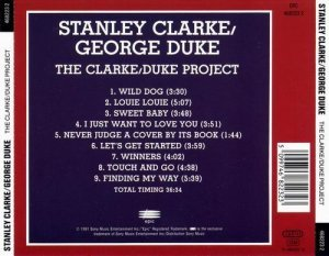 Stanley Clarke & George Duke - The Clarke Duke Project (1981)