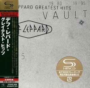 Def Leppard - Greatest Hits: Vault (Japanese Edition) 2CD (1995)