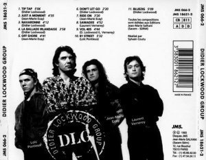 Didier Lockwood - Didier Lockwood Group(1993)