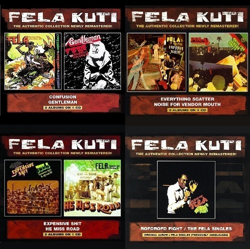 Fela Kuti - Collection, 8 albums (Remastered) » Lossless music