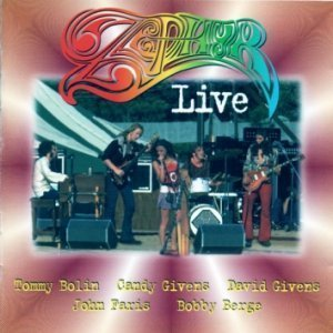 Zephyr - Live At Art's Bar & Grill, May 2, 1973 (Tommy Bolin Archives, Inc. 1997)