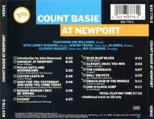 Count Basie & His Orchestra - Count Basie At Newport(1957)