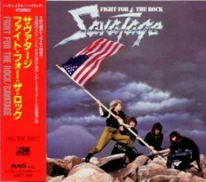 Savatage - Fight For The Rock 1986 (Atlantic/MMG Japan 1st Press 1992)
