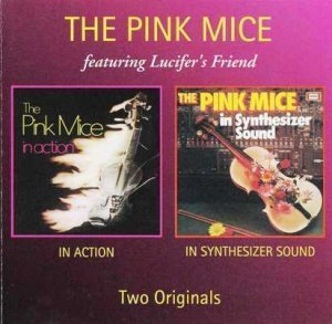 The Pink Mice - In Action / In Synthesizer Sound 1971 / 1972 (Mason Rec. 2004)
