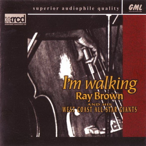 ray brown i 39 m walking 1990 lossless music download flac ape wav. Black Bedroom Furniture Sets. Home Design Ideas