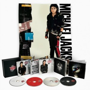 Michael Jackson - Bad 25 [3CD + DVD Deluxe Edition Box Set] (2012)