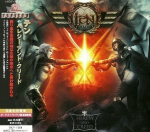 Ten - Heresy And Creed (2012) [Japan Edit.]