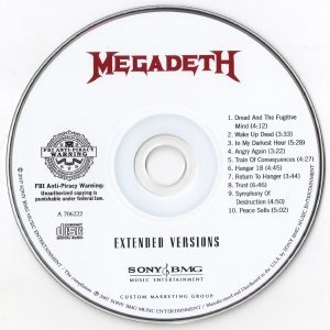 Megadeth - Extended Versions