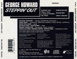 George Howard - Steppin' Out (1984)