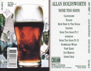 Allan Holdsworth - None Too Soon (1996)