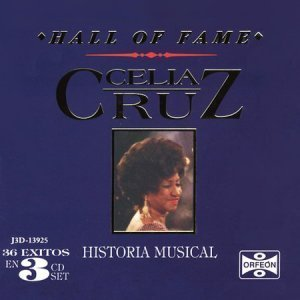 Celia Cruz – Hall of Fame: Historia Musical {BoxSet, 3 CD}