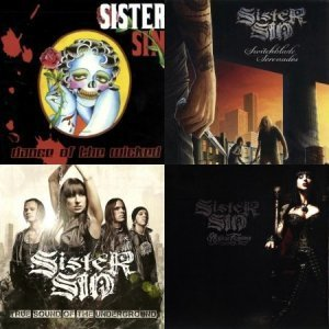 Sister Sin - Discography (2003-2012)