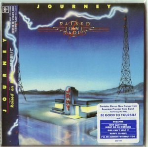 Journey - Raised On Radio 1986 (Mini LP Sony/Japan 2006)