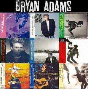 Bryan Adams - 9 Albums Mini LP SHM-CD Collection (2012)