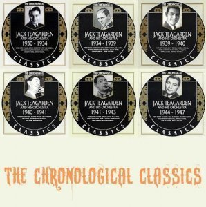 Jack Teagarden And His Orchestra - The Chronological Classics, 6 Albums