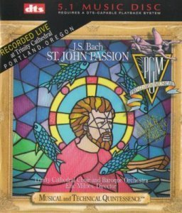 Trinity Cathedral Choir and Baroque Orchestra - J.S.Bach - St. John Passion (2003) DTS 5.1