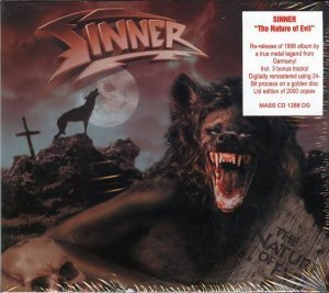 Sinner - The Nature Of Evil (1998) [2009]