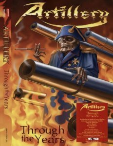 Artillery - Thruogh The Years (4CD) 2007