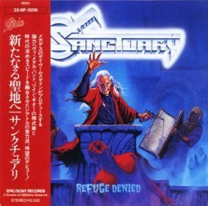 Sanctuary - Refuge Denied (1987) [Japan Press 1988)
