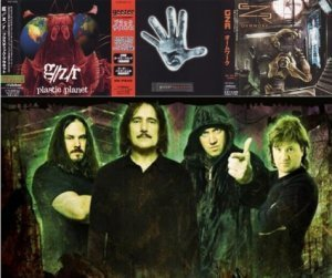 G//Z/R / Geezer / GZR (Geezer Butler) - Discography 3CD (1996/1997/2005 , Japan Press)