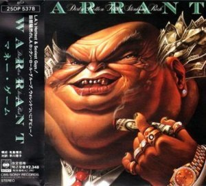 Warrant - Dirty Rotten Filthy Stinking Rich 1989 (CBS/Sony, Japan 1st Press)