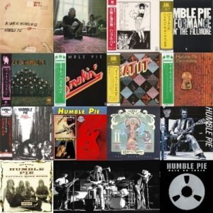 Humble Pie - Discography 16CD (15 Albums 1969 - 2002)