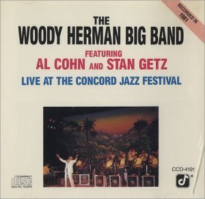 The Woody Herman Big Band - Live At The Concord Jazz Festival (1981)