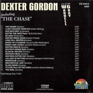 Dexter Gordon - With Wardell Gray (1998)