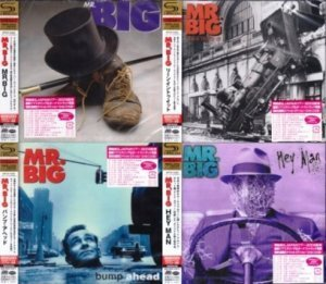 Mr. Big - Collection 4CD 1989-1996 (Atlantic/Warner Music, Japan SHM-CD 2009)