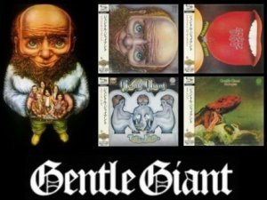 Gentle Giant - Collection Four Paper Sleeve Albums 1970-1972 (Universal Music/Japan SHM-CD's 2009)