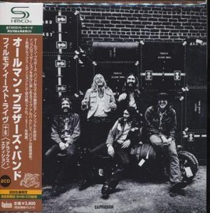 The Allman Brothers Band - At Fillmore East 1971 (Japan Deluxe 2SHM-CD)
