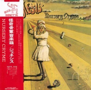 Genesis - Nursery Cryme [Japan Mini LP SHM-CD Edition] (2013)