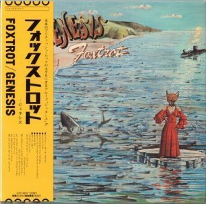 Genesis - Foxtrot [Japan Mini LP SHM-CD Edition] (2013)
