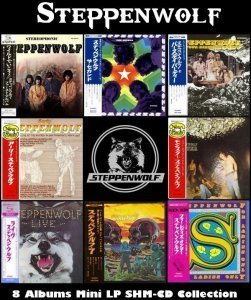 Steppenwolf - 8 Albums Collection (1968-1971) [Reissue 2013]