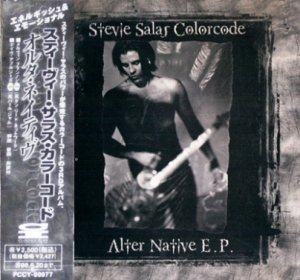 Stevie Salas Colorcode - Alter Native E. P. 1996 (EP, Pony Canyon/Japan)