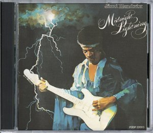 Jimi Hendrix - Midnight Lightning 1976 (JAPAN EDITION 1989)