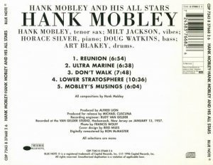 Hank Mobley - Hank Mobley & His All Stars (1957)