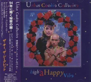 Urban Cookie Collective - High On A Happy Vibe [Japan] (1994)