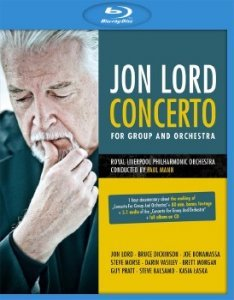 Jon Lord - Concerto for Group and Orchestra (2013) Blu-ray
