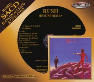 Rush - Hemispheres [Remastered SACD CD] (2013)