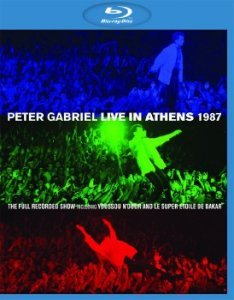 Peter Gabriel - Live In Athens 1987 (2013) BDRip