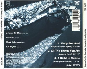Johnny Griffin – Unpretentious Delights (1978)